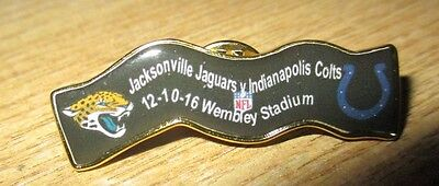 Jacksonville Jaguars Indianapolis Colts 2016 Limited Edition Nfl Wembley Badge