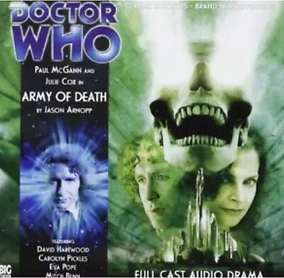 Big Finish Doctor Who CD Army Of Death