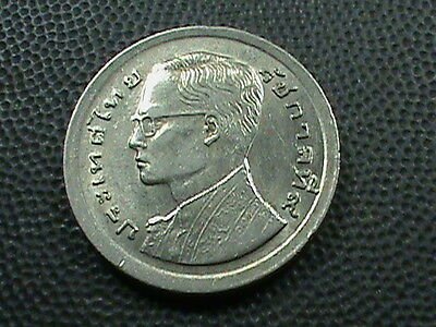 THAILAND    1  Baht   1977    (  2521  )     ALMOST  UNCIRCULATED