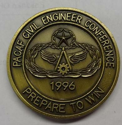 Challenge Coin - Pacific Air Forces - Civil Engineer Conference - 1996- #misc644