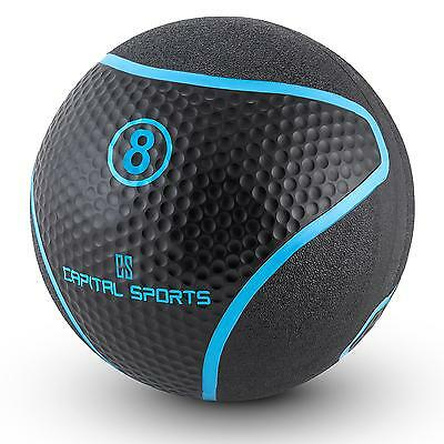 PROMO MEDECINE BALL EXERCICES PHYSIQUES ABDOS ENTRAINEMENT FITNESS Training 8KG