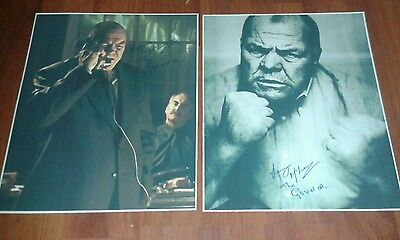 Lenny Mclean The Guv'nor Signed Pictures. Large. Krays. Roy Shaw. Hardman. Boxer