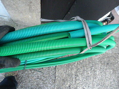 21metres long x 25mm Polypropylene Flexible  underground Conduit Cable trunking