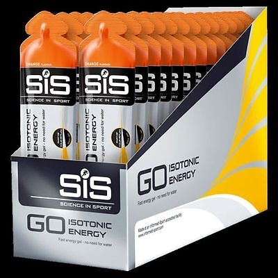 Science in Sport Go Tropical Isotonic Energy Gel (60ml x 30 Pack)