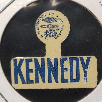 "Vintage  ""kennedy""  Political Campaign Pin (Inv #6782)"