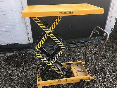 Slingsby Mobile lifting table, capacity 350kg