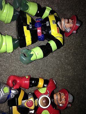 Vintage 2 Fisher Price rescue heroes