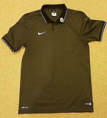 PGMO Football League Referee Polo/Training Shirt (black, small)