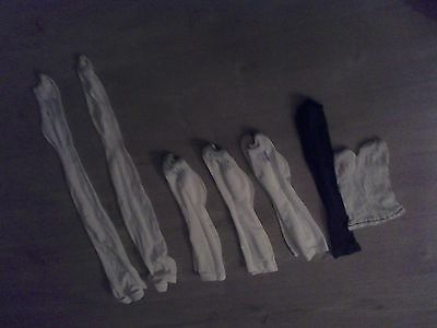 7 pairs of compression or flight stocking all only worn once perfect condition