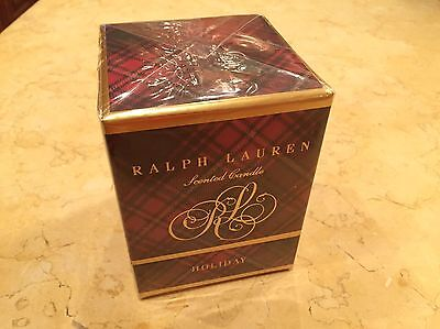RALPH LAUREN SCENTED CLASSIC HOLIDAY CANDLE New RETAILS 60...