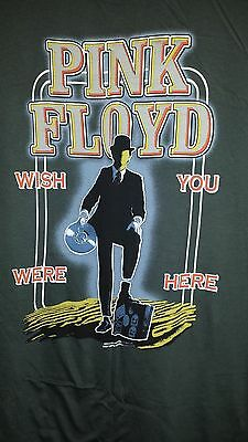 XXL Pink Floyd Wish You Were Here Graphic Gray Cotton T-Shirt