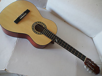 TEXAS Model C-900 Natural Handcrafted Classical Acoustic Guitar w/ Soft Case