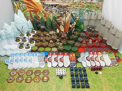 Heroscape Rise of the Valkyrie 30 Figures with Cards and Accessories no Terrain