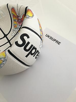 Supreme Spalding Gonz Butterfly Basketball - BRAND NEW - UNUSED - SS16 - DS