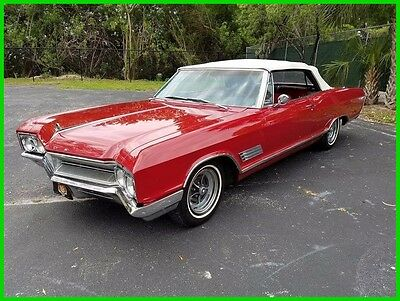 1966 Buick Other  1966 Buick Wildcat Used Automatic Convertible