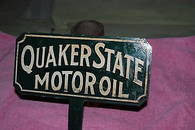 Quaker State Oil Lubester Sign