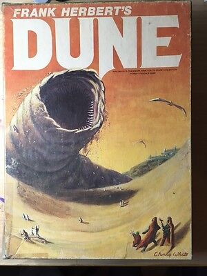 Frank Herbert's DUNE Board Game - Avalon Hill boardgame - complete and unpunched
