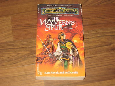Forgotten Realms The Finder's Stone Trilogy Book 2 The Wyvern's Spur TSR 1990 G