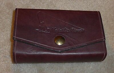 Leather Fly Wallet/Pouch - Majestic River