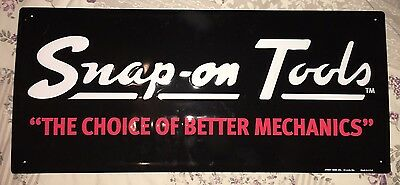 Snap On Tools Metal Stout Sign Limited Edition