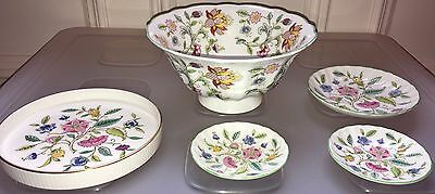 Minton Haddon Hall Bowl Stand Small Dishes Plates