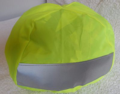 Monarch Hi-Vis Cycle Helmet Cover - Only £3.74 for FIVE & FREE FIRST CLASS POST.