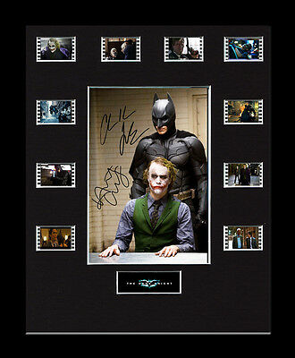 Mounted 35mm Film Cells Display - The Dark Knight - Movie Memorabilia