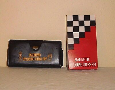 Cathay No. 865  Magnetic Standing Travel Chess