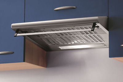 New Baumatic STD62SS 60cm Visor Cooker Hood Stainless Steel - COLLECT BRADFORD