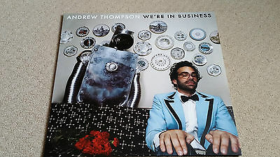 """Andrew Thompson - We're In Business - 12"""" Single - Very Rare"""