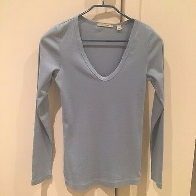 Country Road Womens Blue Long Sleeve T Shirt Size M - Brighton Victoria