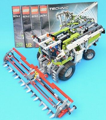 LEGO 8274 - Combine Harvester / Dragster - TECHNIC - 2007 - complete