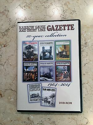 Narrow Gauge and Short Line Gazette: 50-year collection, 1964-2014 DVD
