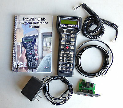 NCE Model Train Power Cab Starter Set with Power