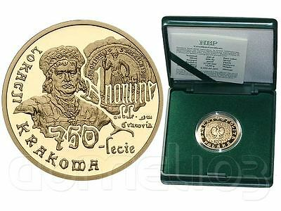 Poland • GOLD • 200 zl 2007 • 750th Annivers Granting Municipal Rights to Kraków
