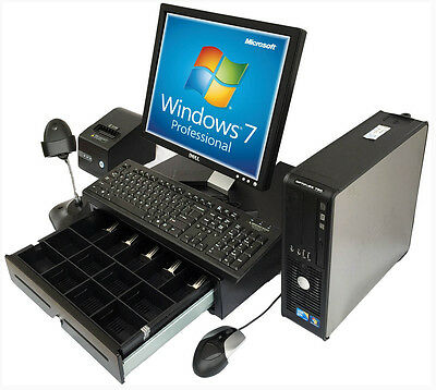 Point of Sale System POS Printer Scanner Cash drawer. Complete. Use Your program