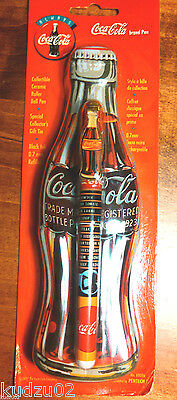 Coca Cola Coke Collectible Pen with Case Tin Refillable Classic New Sealed TWO!