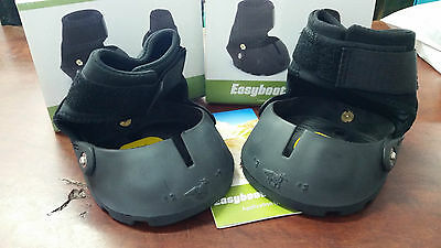 Two for the price of one!!!! Original model Easyboot Glove Hoof boots, size 3