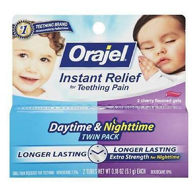 Baby Orajel Regular Formula & Nighttime Formula, Gel (US IMPORT)