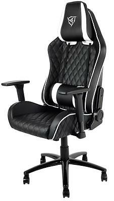 ThunderX3 TGC31 Series Gaming Chair - Black white