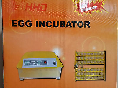 Fully Automatic 48 Egg Digital Incubator Turner Poultry Chicken Duck Bird