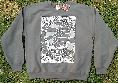 SALE Grateful Dead 50 years sweatshirt LRG Jerry Garcia Phil Lesh Bob Weir phish