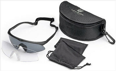 New Revision Sawfly Glasses APEL, With Smoke and Clear Lenses, Regular Size
