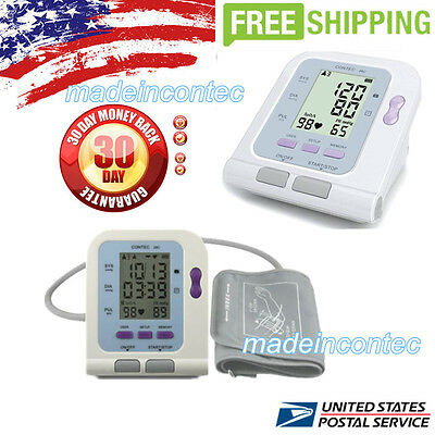 Digital Blood Pressure Monitor USB software Sphygmomanometer CONTEC08C+Software