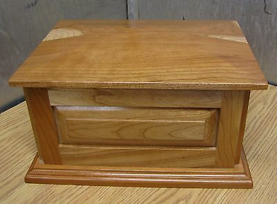 maple urn wood wooden adult cremation funeral urn