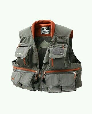 Simms Guide Fly Fishing Vest Size XL / New