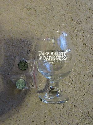 COOL, NEW! Ballast Point Brewery Victory at Sea Day 2016 Tulip Glass plus 2 Pins