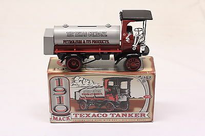Ertl 1995 Texaco Oil 1910 Mack Tanker Truck #12 In Series New
