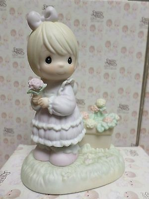 SO GLAD I PICKED YOU AS A FRIEND -Precious Moments Figurine By ENESCO- 524379 NB