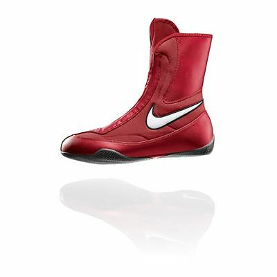 Nike Machomai Mid Boxing Shoes Red/White